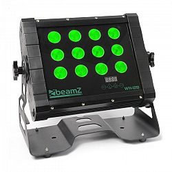 Beamz WH128 Wall Washer négyes LED, 12 x 8W, IP65, DMX