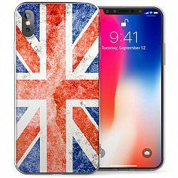 Caseflex England Union Jack Flag szilikon tok iPhone X/XS