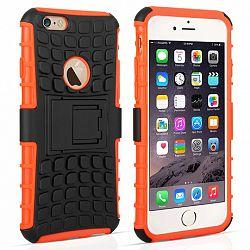 Caseflex műanyag tok Kickstand Combo iPhone 6/6s Narancssárga