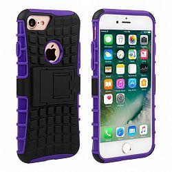 Caseflex műanyag tok Kickstand Combo iPhone 7/8 Lila
