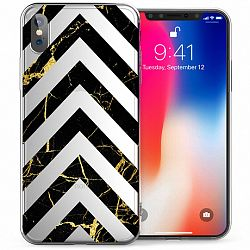 Caseflex Marble Arrows TPU szilikon tok iPhone X/XS