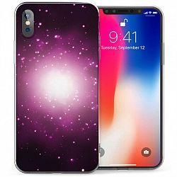 Caseflex Shining Star TPU szilikon tok iPhone X/XS, lila