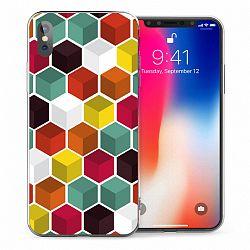Caseflex szilikon tok Geometric Design TPU iPhone X/XS