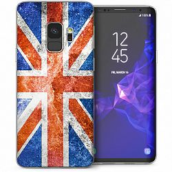 Caseflex szilikon tok Retro UK Flag Samsung Galaxy S9
