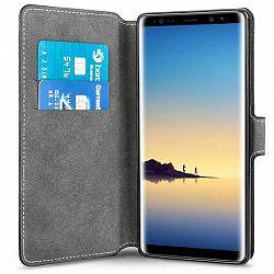 Centopi bőrtok Slim Wallet Stand Samsung Galaxy Note 8 Fekete
