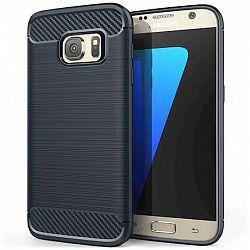 Centopi szilikon tok Carbon Fibre TPU Samsung Galaxy S7 Kék