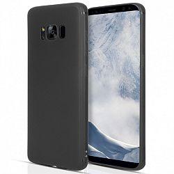Centopi szilikon tok Matte Silicone Samsung Galaxy S8 Plus Fekete
