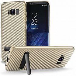 Centopi szilikon tok Ultra Thin Slim Carbon Samsung Galaxy S8 Arany