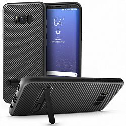 Centopi szilikon tok Ultra Thin Slim Carbon Samsung Galaxy S8 Plus Fekete