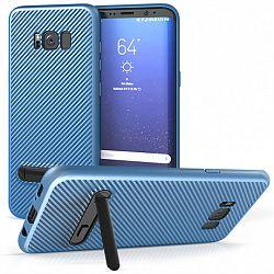 Centopi szilikon tok Ultra Thin Slim Carbon Samsung Galaxy S8 Plus Kék