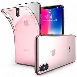 Centopi Ultra Slim Inner Dots szilikon tok iPhone X/XS, rózsaszín