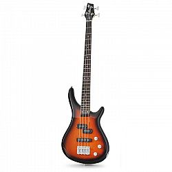 Chord CCB90 basszusgitár, elektromos, sunburst, 4 húros