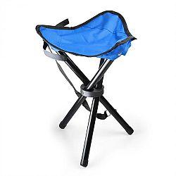 DURAMAXX Hordozható kempingszék, horgász szék, kék-fekete, 500 g