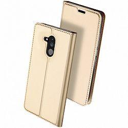 DUX DUCIS Skin Pro bőrtok Huawei Mate 20 Lite, arany