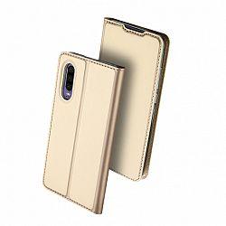DUX DUCIS Skin Pro bőrtok Huawei P30, arany