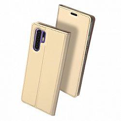 DUX DUCIS Skin Pro bőrtok Huawei P30 Pro, arany