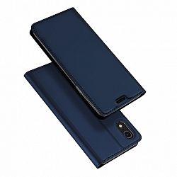 DUX DUCIS Skin Pro bőrtok iPhone XR, kék