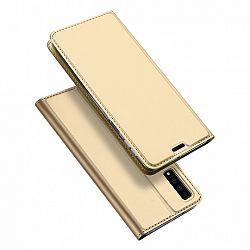 DUX DUCIS Skin Pro bőrtok Samsung Galaxy A7 2018 A750, arany