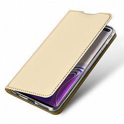 DUX DUCIS Skin Pro bőrtok Samsung Galaxy S10 Plus, arany