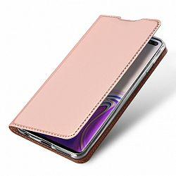 DUX DUCIS Skin Pro bőrtok Samsung Galaxy S10 Plus, rózsaszín