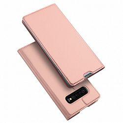 DUX DUCIS Skin Pro bőrtok  Samsung Galaxy S10, rózsaszín