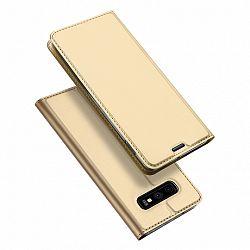 DUX DUCIS Skin Pro bőrtok Samsung Galaxy S10e, arany