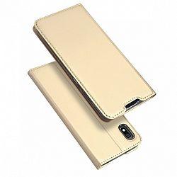 DUX DUCIS Skin Pro könyv bőrtok púzdro Samsung Galaxy A10, arany