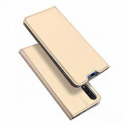 DUX DUCIS Skin Pro könyv bőrtok púzdro Samsung Galaxy A70, arany