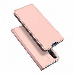 DUX DUCIS Skin Pro könyv bőrtok púzdro Samsung Galaxy A70, rózsaszín