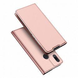 DUX DUCIS Skin Pro könyv bőrtok púzdro Xiaomi Redmi Note 7, rózsaszín