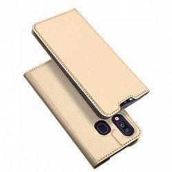 DUX DUCIS Skin Pro könyv tok Samsung Galaxy A40, arany