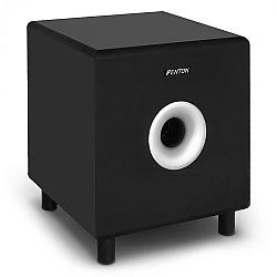 """Fenton Aktív subwoofer SHFS10B, 25,4 cm (10""""), fekete"""