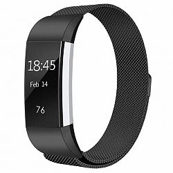 Fitbit Charge 2 Milanese (Large) szíj, Black