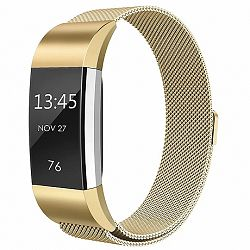 Fitbit Charge 2 Milanese (Large) szíj, Gold