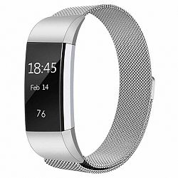 Fitbit Charge 2 Milanese (Large) szíj, Silver