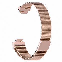 Fitbit Inspire Milanese (Large) szíj, Rose Gold