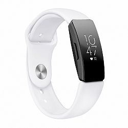 Fitbit Inspire Silicone (Large) szíj, White