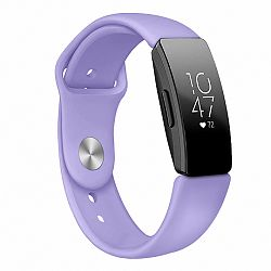 Fitbit Inspire Silicone (Small) szíj, Light Purple