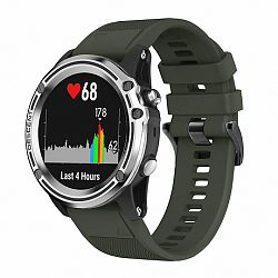 Garmin Fenix 5 Silcone Acton szíj, Army Green