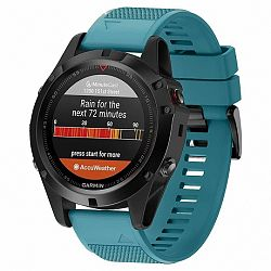Garmin Fenix 5 Silcone Acton szíj, Dark Teal