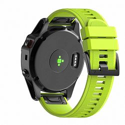 Garmin Fenix 5 Silcone Acton szíj, Fruit Green