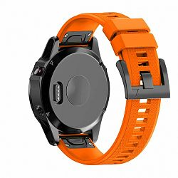 Garmin Fenix 5 Silcone Acton szíj, Orange