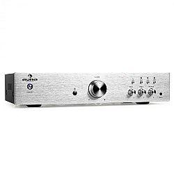 Hi-fi erősítő Auna AV2-CD508, sztereó, nemes acél, 600 W