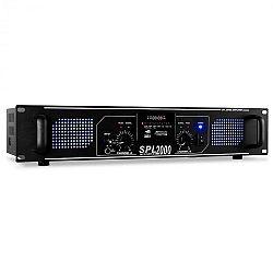 HiFi és PA Skytec SPL 2000 erősitő, 5600 W, USB, SD, MP3