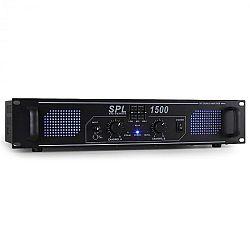 HiFi PA erősítő Skytec SPL-1500-EQ, LED fényeffekt