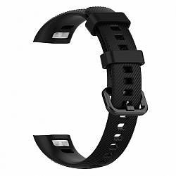 Honor Band 4 Silicone Line szíj, Black