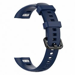 Honor Band 4 Silicone Line szíj, Dark Blue