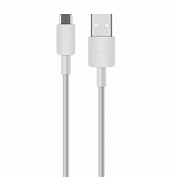 Huawei C02450768A adatkábel micro USB, fehér
