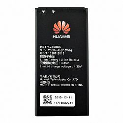 Huawei HB474284RBC Li-Ion akkumulátor 2000 mAh, Ascend Y550, bulk