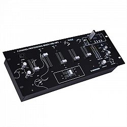 Ibiza DJM90USB-BT 5 csatornás mixerpult, USB, bluetooth, SD, rack